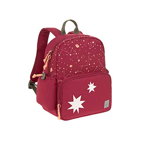LÄSSIG Kinderrucksack mit Brustgurt Kindergartentasche Kindergartenrucksack ab 4 Jahre/Medium Backpack Magic Bliss Girls