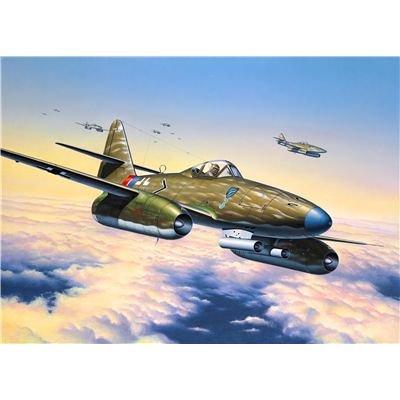 Revell Modellbausatz Flugzeug 1:72 - Messerschmitt Me262 A1a im Maßstab 1:72, Level 4, originalgetreue Nachbildung mit vielen Details, 04166