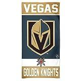 Wincraft NHL Las Vegas Golden Knights Strandtuch Badetuch Handtuch Fiber Towel -