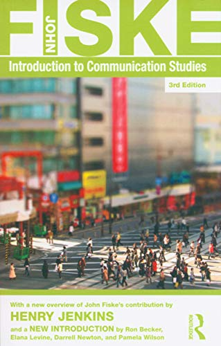 Compare Textbook Prices for Introduction to Communication Studies Studies in Culture and Communication 3 Edition ISBN 9780415596497 by Fiske, John
