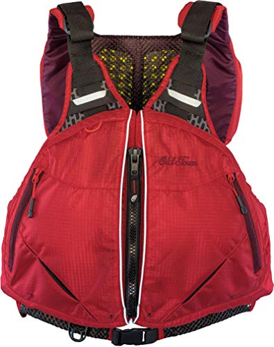Old Town Solitude Men's Life Jacket (Red, XXL/XXXL)
