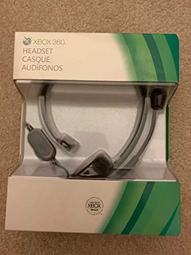 Microsoft Xbox 360 P5F-00001 Headset - In-Line Volume Control, Boom Microphone