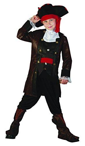 Rire Et Confetti - Fiapir011 - Déguisement pour Enfant - Costume Pirate De Haute Mer Garçon - Taille S