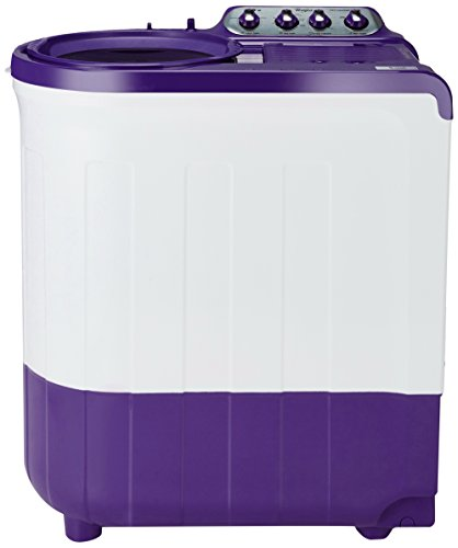 Whirlpool 7.5 kg Semi-Automatic Top Loading Washing Machine (Ace SuperSoak 7.5, Coral Purple)