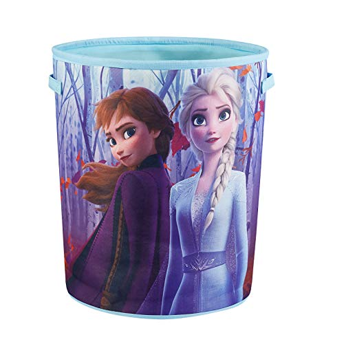 Disney Frozen 2 Circular Storage Bin with Handles, Multi