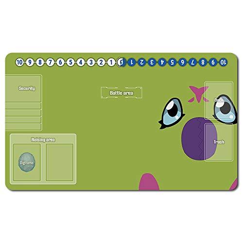 701864de - Digimon Spielematten , Digimon playmat Brettspiel Digimon Mouse pad MTG Playmat Tischmatte Spiele Größe 60X35 cm Mousepad Spielmatte für TCG CCG Yugioh Digimon Magic The Gathering