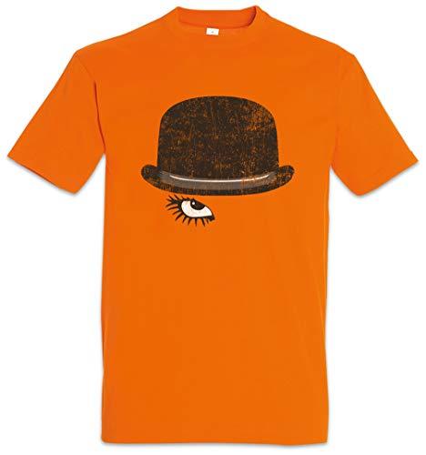 Urban Backwoods Alex Eye Camiseta De Hombre T-Shirt Naranja Talla M