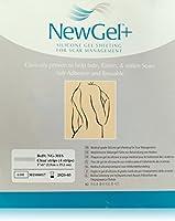 """NewGel+ Silicone Gel Strips for Scar Managment - 1"""" x 6"""" Strips Clear (4 per box)"""