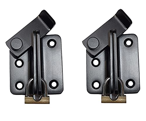 2'Flip Hasp Bolt latch,ultra thick Stainless Steel with...