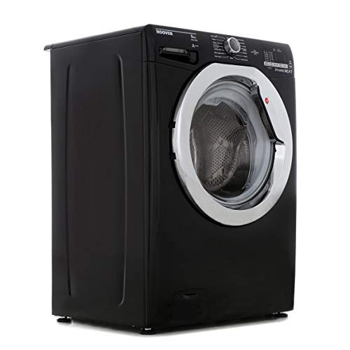Hoover DXOC68C3B Washing Machine Glossy Black Freestanding 8kg 1600rpm A+++ Energy Rating A Wash Rating 16 Programmes
