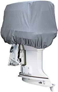 ATTWOOD MARINE Attwood Road Ready153; Cotton Heavy-Duty Canvas Cover f/Outboard Motor Hood 25-50HP / 10542 /
