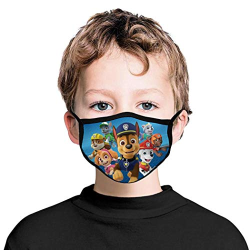 Anime Facial Decorations Adjustable Earloops Anti Dust Coverings for Kids Boys Girls