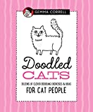 Doodled Cats: Dozens of clever doodling exercises & ideas for cat people (Doodling for...)