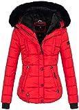 Marikoo warme Damen Winter Jacke Winterjacke...