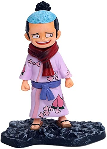 Hermosos Adornos de una Pieza GK Kakutsuki Momosuke Wanokuni Kimono Modelo de muñeca Decoración de Coche Hecha a Mano
