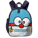 Doraemon - Mochila escolar para niños azul marino talla única