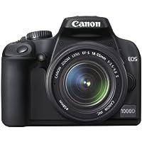 Canon EOS 1000D - Cámara Réflex Digital 10.1 MP (Objetivo EF 18-55)