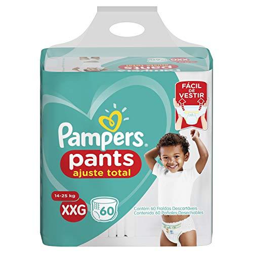 Fralda Pampers Pants Ajuste Total XXG 60 unidades, Pampers