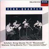 シューベルト : 弦楽四重奏曲 第13番 イ短調、Op.29 (D804)「ロザムンデ」