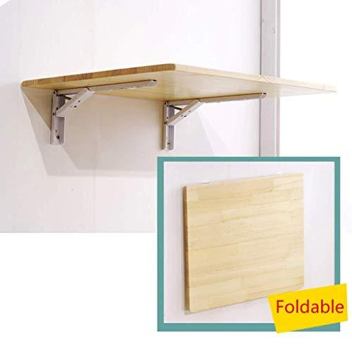 Aan de muur bevestigde klap tafel Klaptafel klaprooster, driehoekige DIY beugel plaat for keuken, slaapkamer, elke binnenruimte ruimtebesparend (Size : 100×50cm)