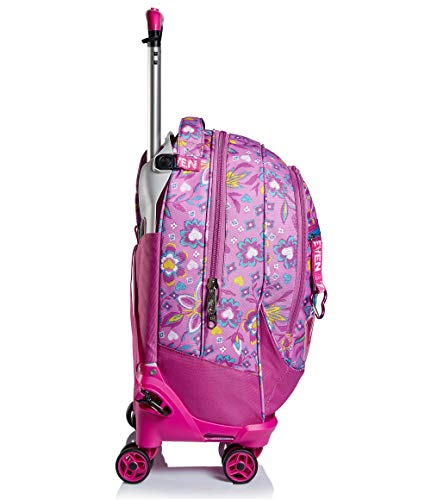 41ZVJZOYLgL - Trolley Backpack Seven Jack 4WD Love Songs