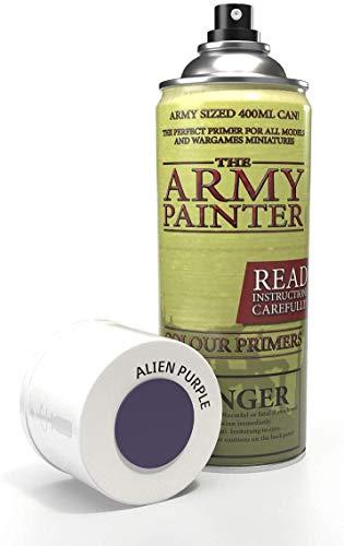 The army painter color primer, alien purple, 400ml, 13. 5oz - acrylic...