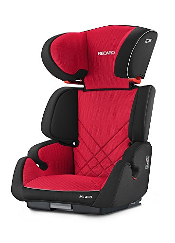 RECARO Siège enfant Milano Seatfix, Rouge