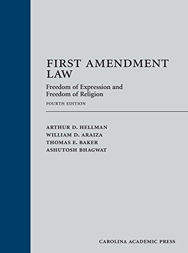 Price comparison product image First Amendment Law: Freedom of Expression and Freedom of Religion