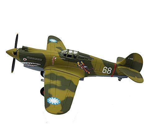 KAIGE 1:72 Militar Modelo de aeronave, la Segunda Guerra Mundial USA Combate Final de Modelos, de colección (Veces 5Inch; 5.5inch) P-40 WKY ( Color : 68 )