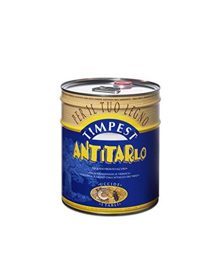 TIMPEST ANTITARLO LT. 10 - base solvente attivo contro tarli, larve, termiti e parassiti del legno - liquido pronto all'uso