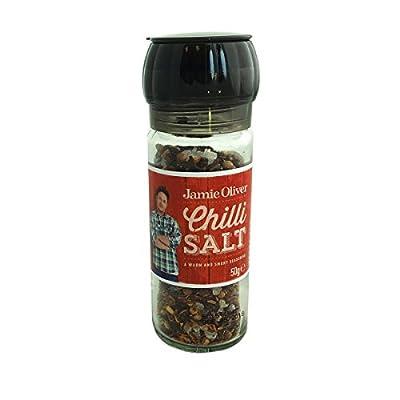 Jamie Oliver Chilli Salt Grinder by Fiddes Payne