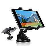 Soporte de soporte para tablet de coche, soporte para tablet con ventosa para parabrisas de coche, escritorio de cocina, compatible con iPad, Samsung Galaxy Tab A serie S y tabletas de 7 a 10 pulgada