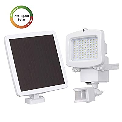 Westinghouse Solar Lights Outdoor Motion Sensor Lights with Wide Angle Security Flood Light Easy-to-Install Weather Resistant LED Solar Light Lighting for Front Door,Garage,Yard