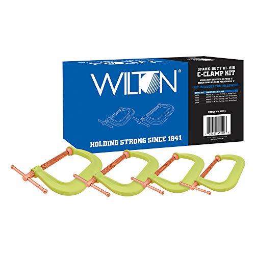 Wilton Spark-Duty 400CS Hi-Vis C-Clamp Kit (11114)