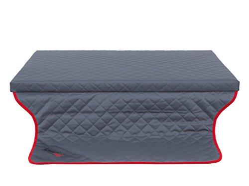 Hobbydog R2 MLTGRA3 Light Trunk Die Matratze/Couch, das Bett für einen Hund Zum Kofferraum, 100 x 80 cm, L