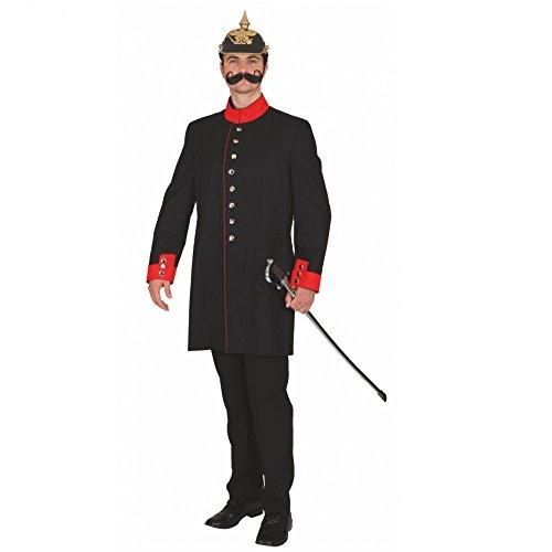 Gr. 54 Historische Uniformjacke m. Futterstoff Kostüm