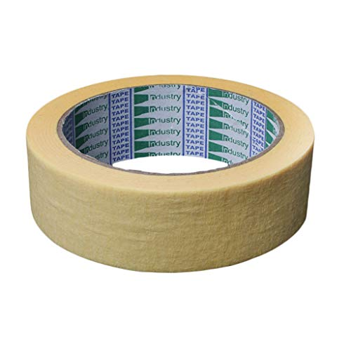 FLAMEER Abdeckband Maler Lackieren Band 50 Meter Malerkrepp Kreppband Abklebeband Malerabdeckband - 3,0 cm