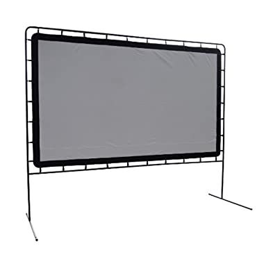 Camp Chef OS-144 Indoor or Outdoor Giant Movie Screen Movie Night, White