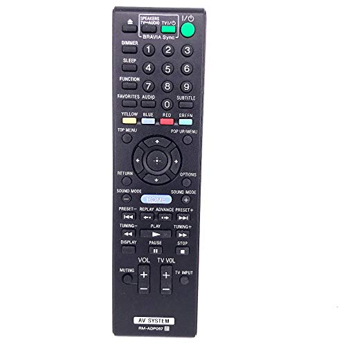 Vinabty RM-ADP057 reemplazó los Trajes de Control Remoto adecuados para Sony BDV-E280...