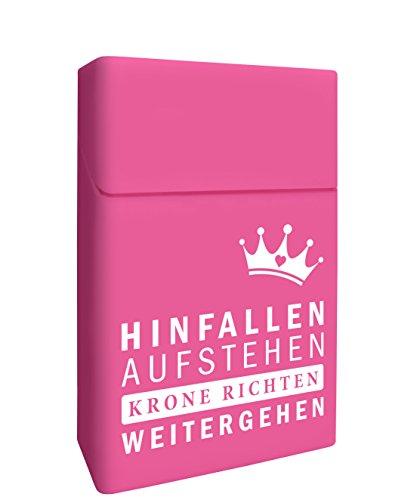 Zigarettenbox - Zigarettenetui - Prinzessin Zigarettenhülle aus Silikon [Smokingbox] - passend für Zigarettenschachtel in Standardgröße