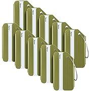 Travelambo Aluminum Luggage Tags & Bag Tags (Silver)