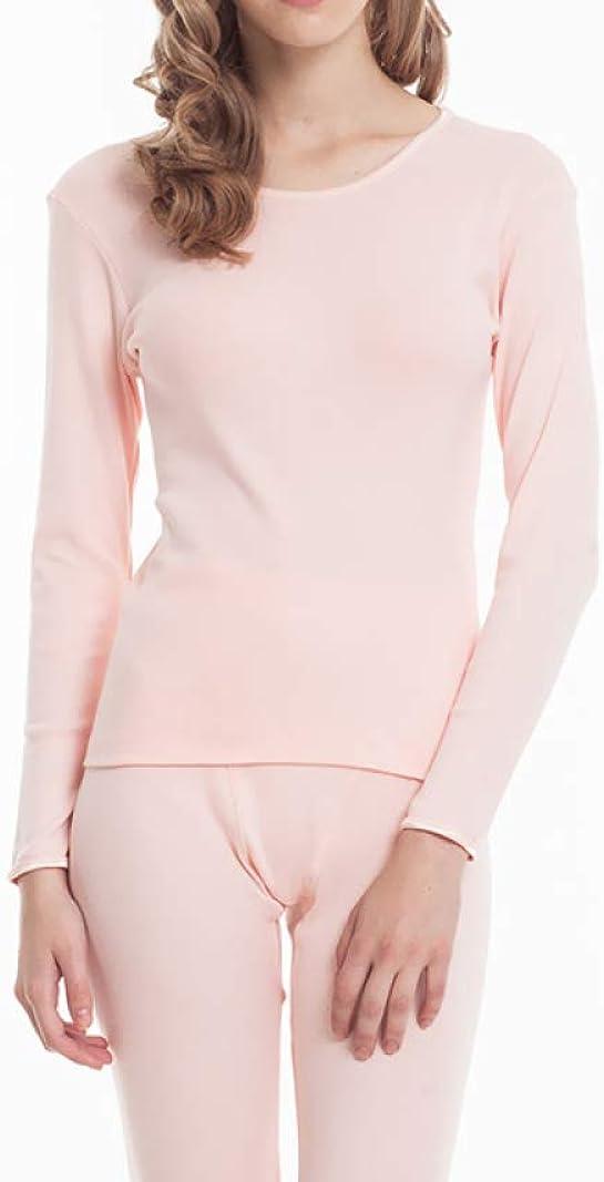 Thermal Underwear for Women Cotton Knit Thermals Women's Base Layer Long John Set