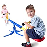 Grow'n Up Heracles Seesaw, 360 Degrees Rotation Teeter-Totter, Backyard Playground Outdoor seesaw, Sturdy & Durable outdoor play