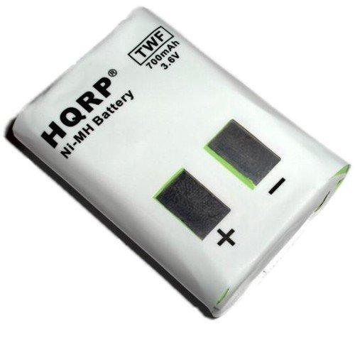 HQRP Batería de Radio bidireccional para Motorola MH230 / MH230R / MH230TPR + HQRP Posavasos