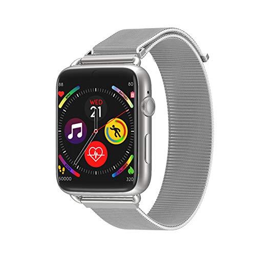 Oolifeng Android 7.1 OS 4G Smartwatch voor heren dames, fitnesshorloges, WLAN, GPS met hartslagmeter, ruimte voor simkaart/camera, IP67 waterdicht