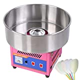 20' Commercial Cotton Candy Machine GEN3 Large Countertop Electric Floss Maker Birthday Party Carnival Pink