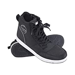 CASUAL SPORT BOOT - Dexter Riding Shoes are a fully synthetic motorcycle riding shoe designed to look like a casual sneaker SLIP-IN DESIGN - Medial side zipper entry lets you bypass the traditional sneaker laces so you can slip in and throttle out LI...