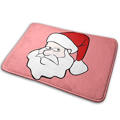 shenguang Felpudo Delantero Antideslizante, Alfombras de baño absorbentes, Alfombra de Entrada de árbol de Navidad Alfombra para Mascotas Alfombra Suave para Sala de es