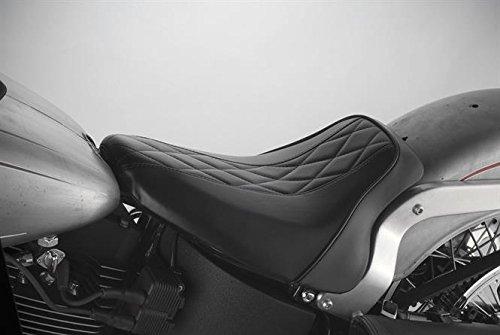 Harley Davidson Selle 'Hot Rod'Le Pera Serie - Verkrijgbaar in 5 verschillende ontwerpen voor Softail-modellen, Dyna en Sporsters - Voor Dyna 06-17 modellen - Beschrijving: afzonderlijk zadel Bel-Air