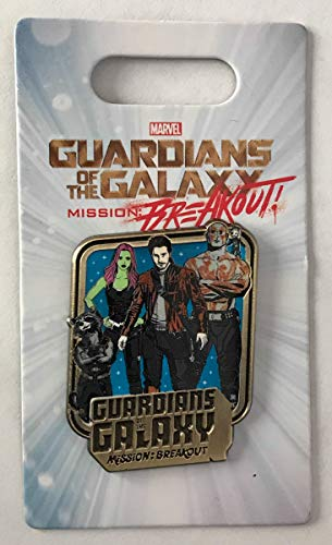 Marvel Pin 126990 Guardians of the Galaxy - Mission: BREAKOUT Disney Pin